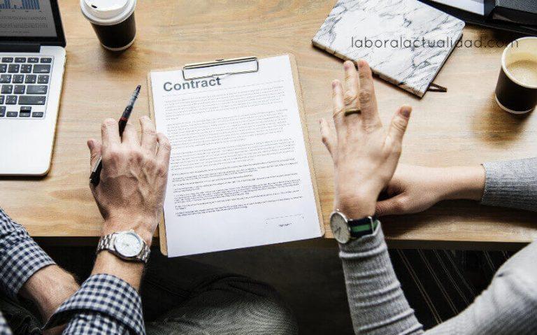 Tipos de contratos de trabajo existentes