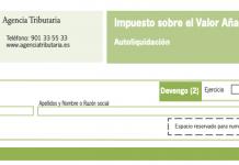modelo 303 autoliquidacion del IVA